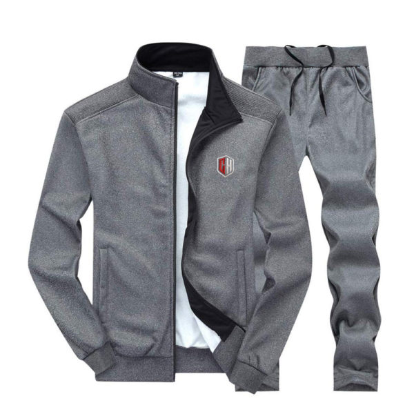 Gray Track suit